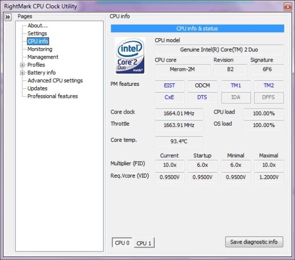 CPU Info