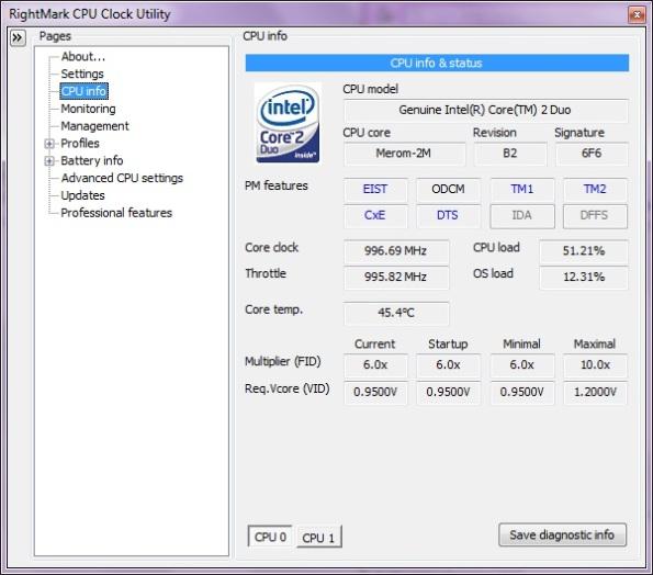 CPU Info 2